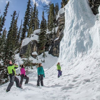 Mountain Icefall Snowmobile Tour