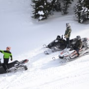 2 Day Snowmobile Paradise and Powder X Combination tour