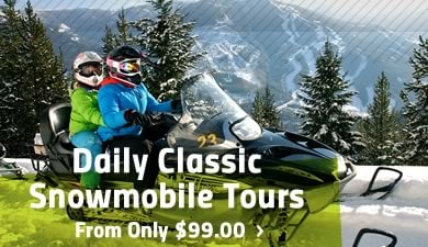 Classic Snowmobile Tours