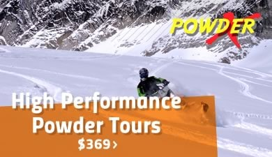 High Performance Snowmobile Tours