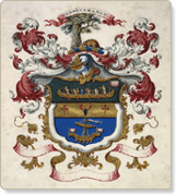 North West Company coat of arms, ca. 1800-1820 Unknown Artist/Library and Archives Canada/C-008711