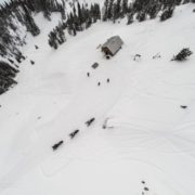 Aerial Drone Photo of Paradise Cabin