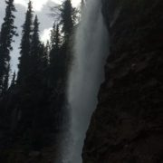 The Smith Falls are spectacular right now as very warm temperatures rapidly melts the remaining snow.