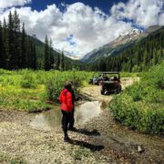 Take an #ATV trip to the wild side - up + over #ParadiseRidge to Bruce Creek.