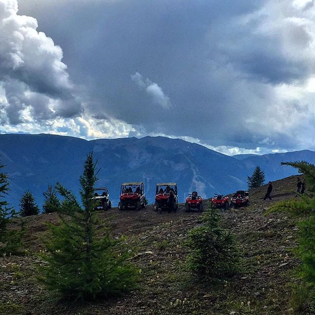 #ATVtour on #ParadiseRidge.  #panoramabc #invermere #canadianrockies #banff