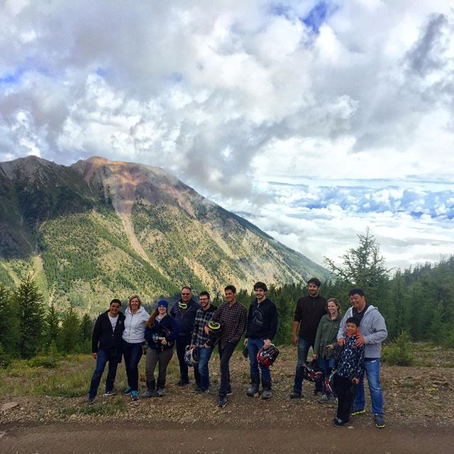 A family outing into the mountains and the clouds. #ATVtour  #panoramabc #invermere #canadianrockies #banff