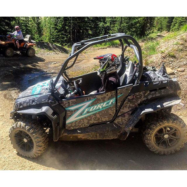 Our #ATV tour guides have been putting this #CFMoto side-by-side …