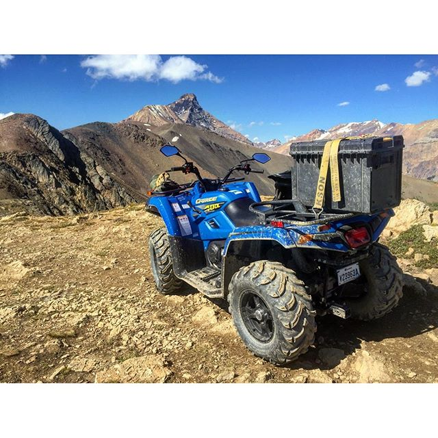 We have been trial testing this #CFMoto 400cc #ATV this …