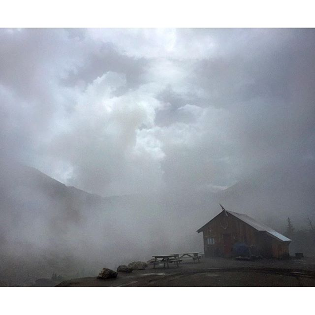 Magical mystical mysterious mist at the cabin today. #ATVtour #panoramabc #invermere #banff #canmore #canadianrockies