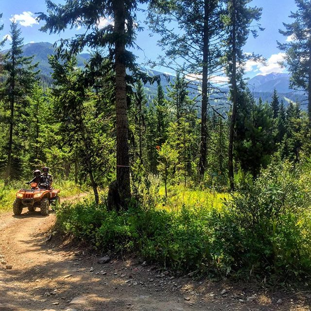 EXPLORE with us! #ATVtour #canadianrockies #banff #canmore #panoramabc