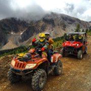 On the trail to Paradise Ridge!