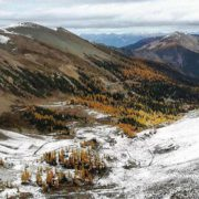 Paradise Bowl yesterday photographed from high above on the ridge …