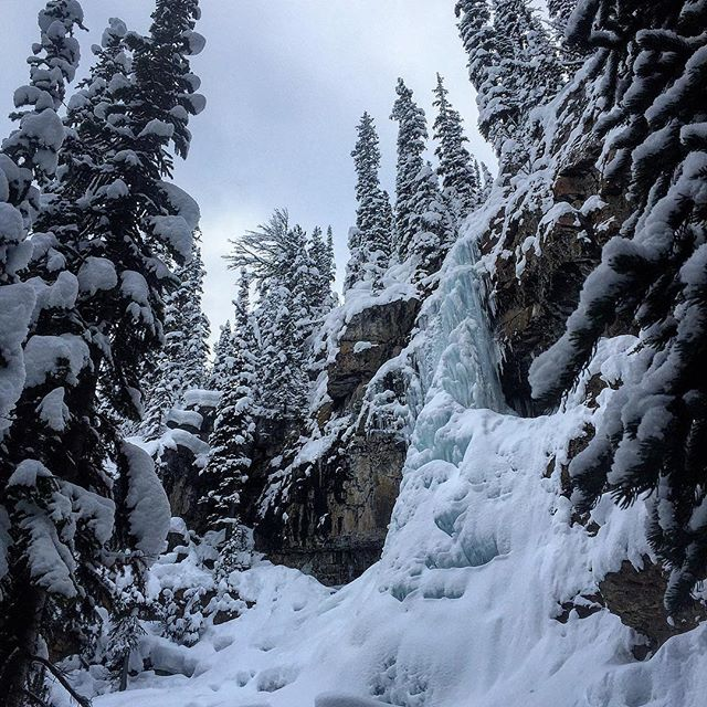 Always spectacular in early winter – the Smith Falls beside …