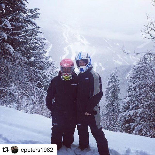 #Repost @cpeters1982 with @repostapp ・・・ Snowmobile tour through the mountains …