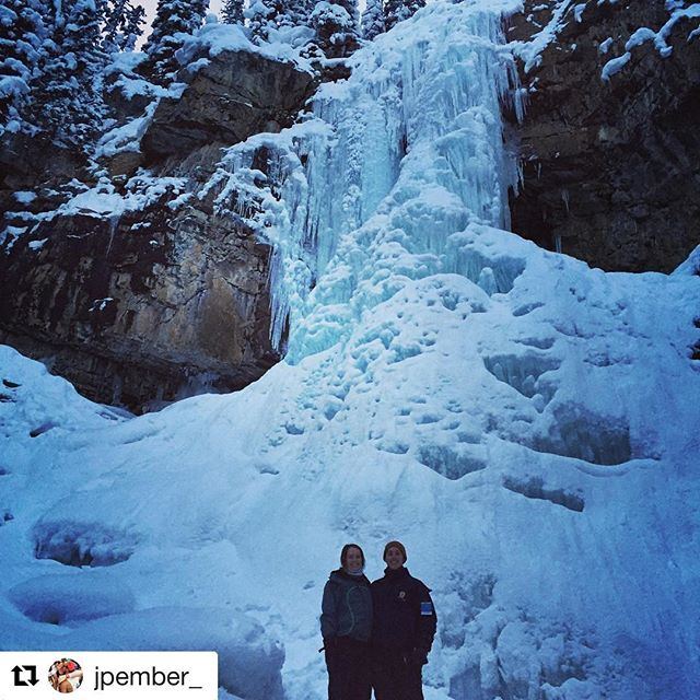 #Repost @jpember_ with @repostapp ・・・ Chasing waterfalls in -30 degrees …