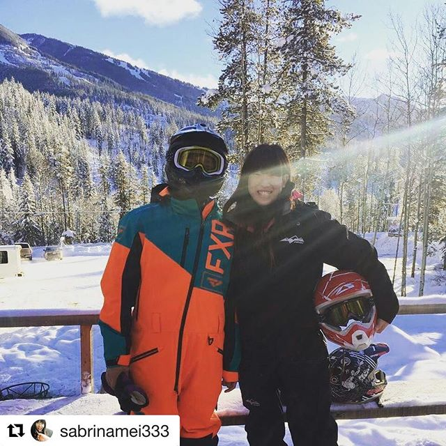 Instagram Repost from @sabrinamei333 ・・・ #❄ #snowmobiling #tobycreekadventures