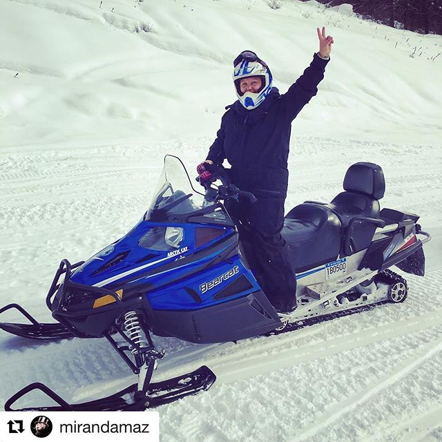 Instagram Repost from @mirandamaz ・・・ All levels of smashing the snow and the mountain today! One of the best days of my entire life!! #snowcat #skidoo #snowmobile #tobycreekadventures #panorama #britishcolumbia #snow #mountains #snowsport #mates #shredding #powpow