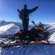 An amazing bluebird day at Forster Pass on today's PowderX …