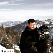 Instagram repost from @gc_jku ・・・ Great time snowmobiling today! Behind …