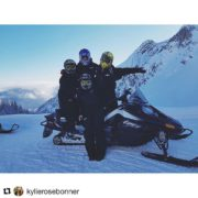 Guest Services Team at yah finest 👌🏼🔥#purecanada #panorama #snowmobiling  …