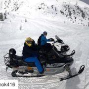 Instagram repost from @tinok416 ・・・ #snowmobile #panorama #britishcolumbia #canada #tobycreekadventures …