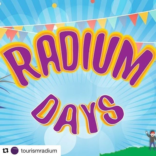 #Repost from @tourismradium ・・・ #RadiumDays2017, right around the corner. Save …