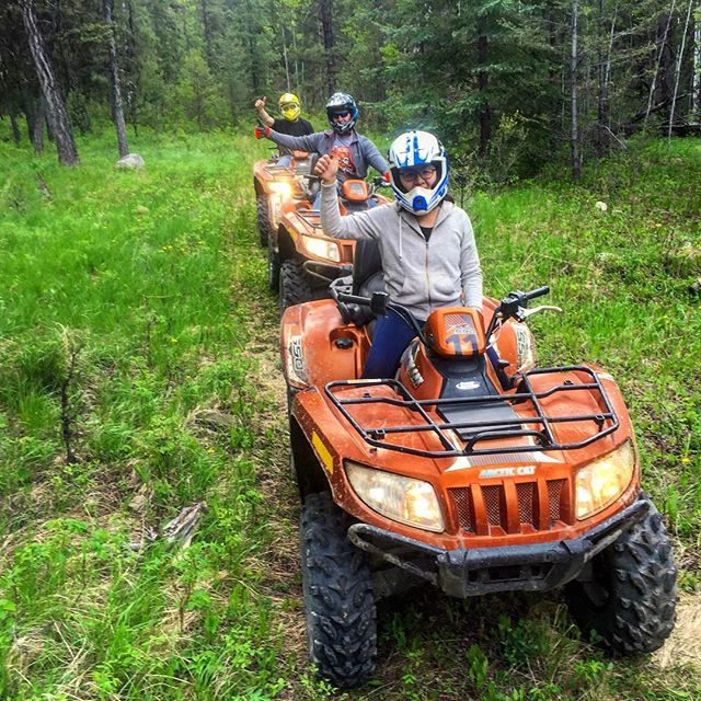 It's getting green out here!! #ATVtour #ATV #tobycreekadventures