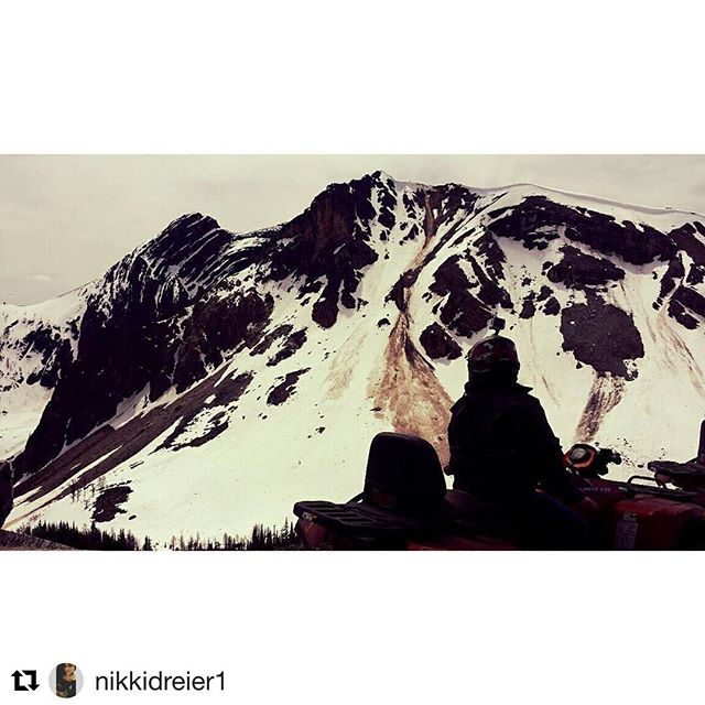 #Repost @nikkidreier1 ・・・ ATV adventures absolutely beautiful scenery. Toby Creek …