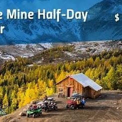 #ParadiseMine half-day #ATV tour. #tobycreekadventures #canadianrockies #explorebc #banff #canmore #panoramabc …