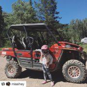 #Repost @misslhey ・・・ check out my ride guys! #tobycreekadventures #adcsummerinbc2017 …