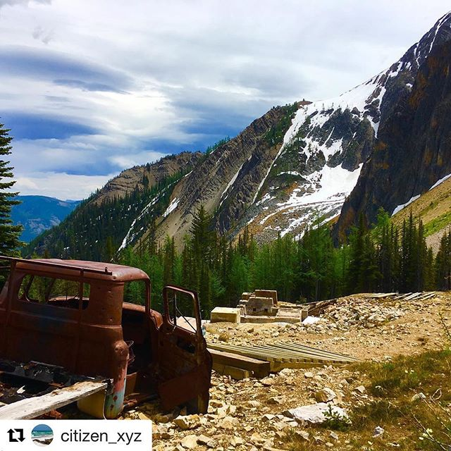 #Repost @citizen_xyz ・・・ East Kootenay, British Columbia #canada #canadavacation #beautiful_places #beautifulbritishcolumbia #canada150 #neverstopexploring #adventure #tobycreek #atv #atvriding #inveremere #supernatural #BC #explorebc #rockymountains #silver mine #paradisemine #lifeisgood