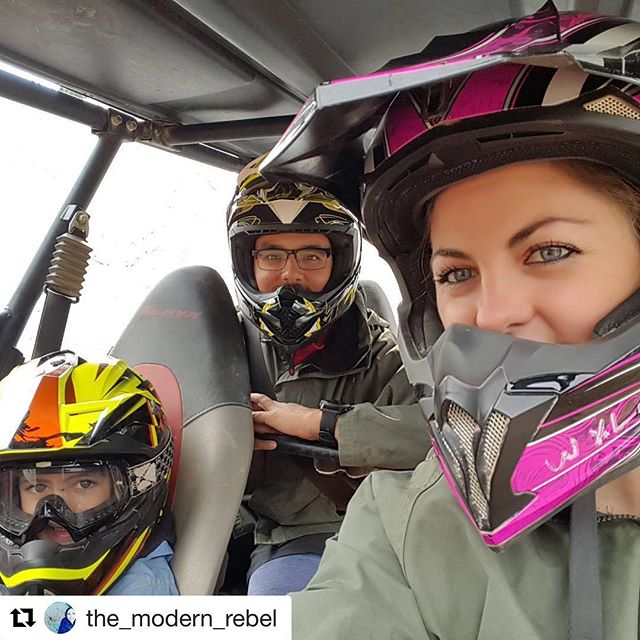 #Repost @the_modern_rebel ・・・ What a blast! Taking a side by …