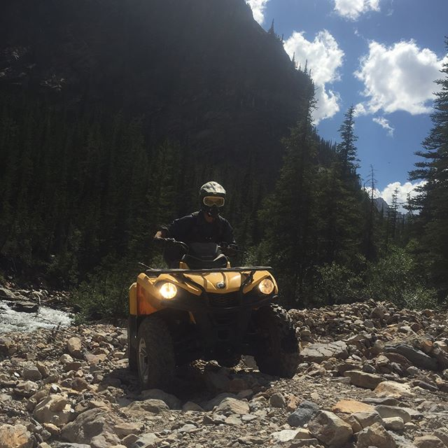 Big country and big adventures!! #GlacierSafari #ATVtour #tobycreekadventures #paradiseridge #canada #canadianrockies #kootrocks #banff #canmore #panoramabc #purecanada