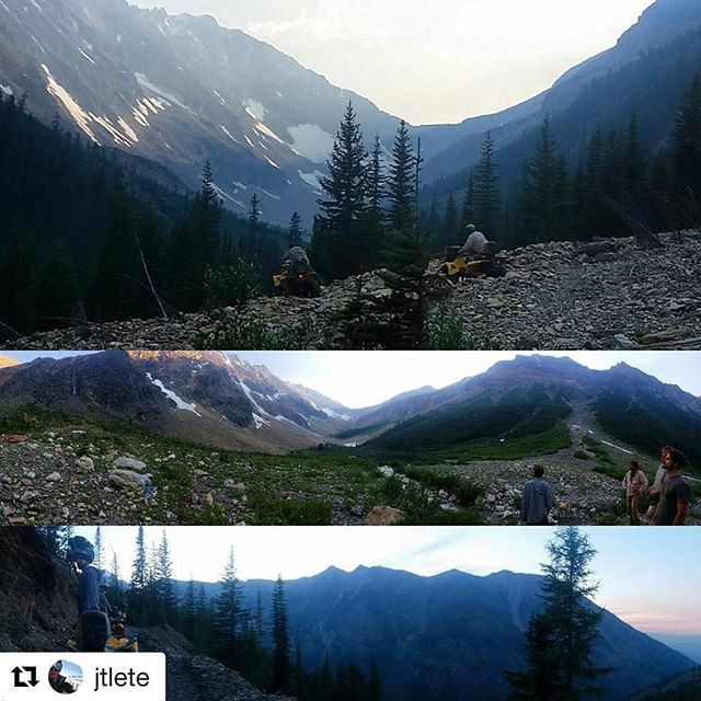#Repost @jtlete ・・・ #tobycreekadventures not a bad view.