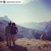 #Repost @agnieszka.kense ・・・ Made it to 9000ft!! It's amazing up …