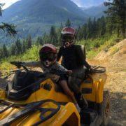Ready to ride !! #atvtour #panoramabc #tobycreekadventures #canam #purecanada