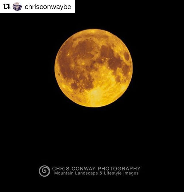 Tonight's full moon at @panoramaresort #tobycreekadventures  #Repost @chrisconwaybc ・・・ Smokey #FullMoon #PanoramaBC #IG