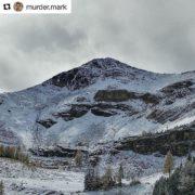 Fresh snow at Paradise today!! Nice pic Mark !! 👍 …