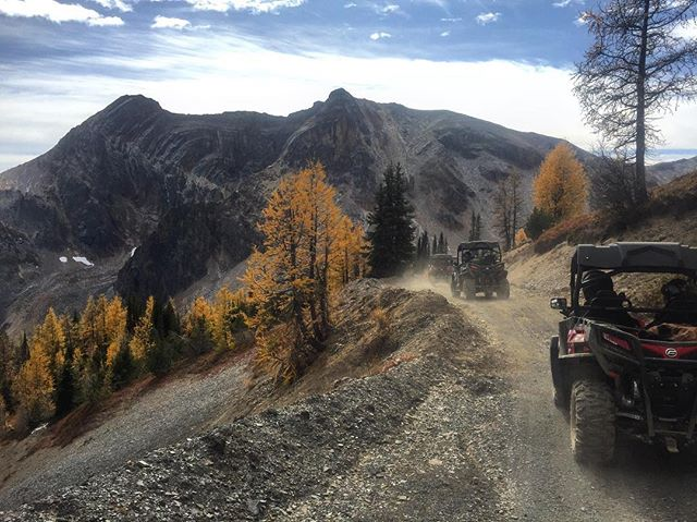 Another spectacular fall day at Paradise. #atvtour