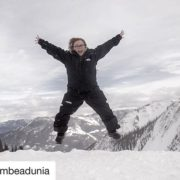 #Repost from @tembeadunia ・・・ Celebrating yesterday's first snow fall of …