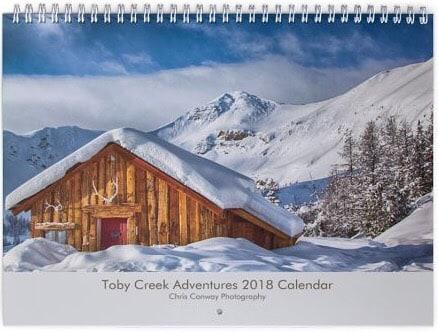 2018 Toby Creek Adventures Calendar Now Available !! Enjoy Paradise …