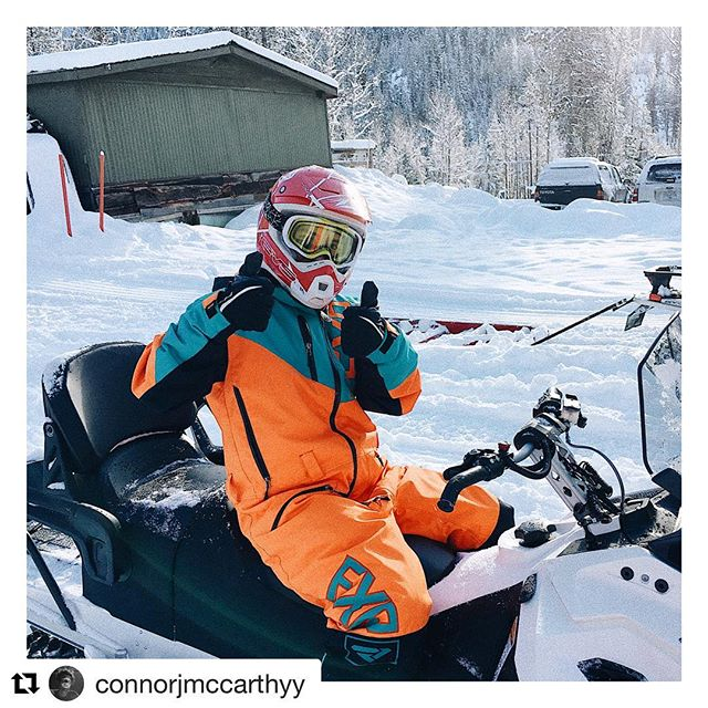 #Repost @connorjmccarthyy ・・・ 054 – JOURNEY 2   snowmobiling at …