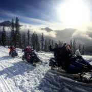 Fresh snow today followed by clearing clouds, blue skies and …