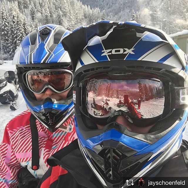 Repost from @jayschoenfeld .  A few shots and video from our @tobycreekadv sled tour today. Very grateful for the sunny, warm winter day and great hospitality.  #sledding #healthylifestylesafter40