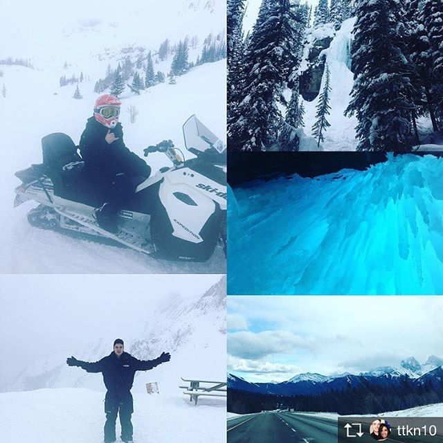 Repost from @ttkn10 Adventures In The Outback 🏔#invermerebc #tobycreekadventures #candianrockies #canadianoutback #snowmobiling