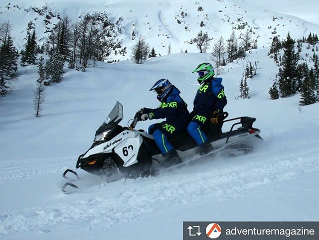 Repost from @adventuremagazine Snow time with Toby Creek Adventure – …