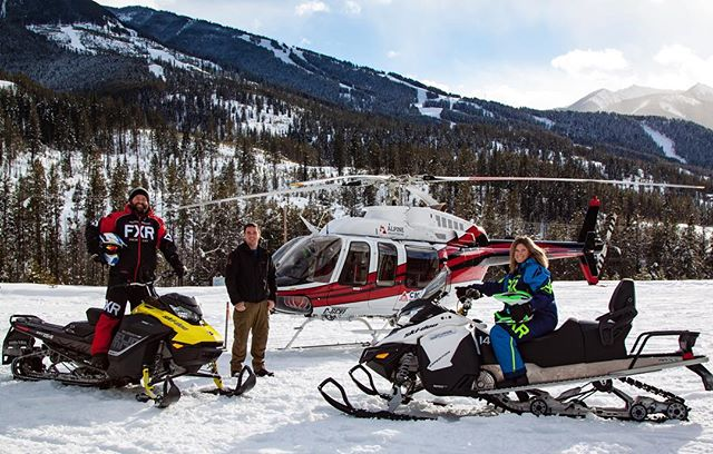 Helicopter / Snowmobile Combo Tour