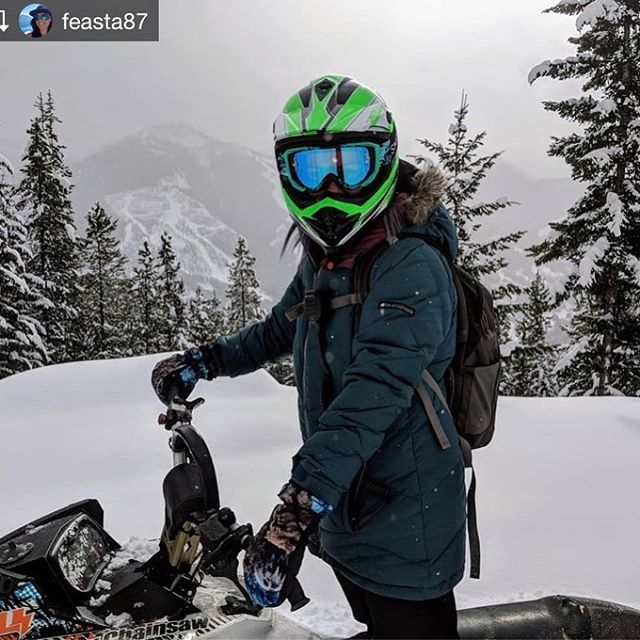 Repost from @feasta87 When you find so much snow that …