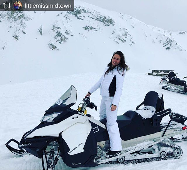 Repost from @littlemissmidtown How I spent my 35th birthday...and it was sooooo awesome! ???? Thank you @80sbaby29 and @tobycreekadv for the perfect birthday adventure! #birthdaycakeontopofamountain #views #mountains #snowfordays #morelikemonths #snowmobiling #birthdayadventures #anothercitydown #thankful #live #love #life #happiness #youonlyliveonce so #liveyourlife and thank your parents for bringing you into this world ????
