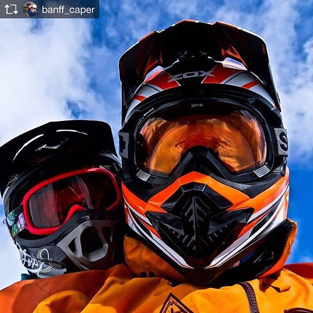 Repost from @banff_caper  Heads in the clouds  #fathersontime …
